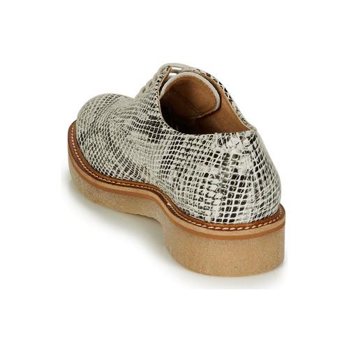 Oxfork Kickers Sapatos Mulher Branco / Preto