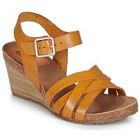Sapatos Mulher Sandálias Kickers SOLYNA Camel