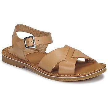 Sapatos Mulher Sandálias Kickers TILLY Bege