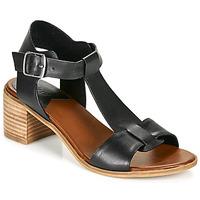 Sapatos Mulher Sandálias Kickers VALMONS Preto