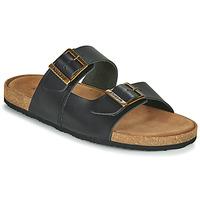 Sapatos Homem Sandálias Kickers ORANO Preto