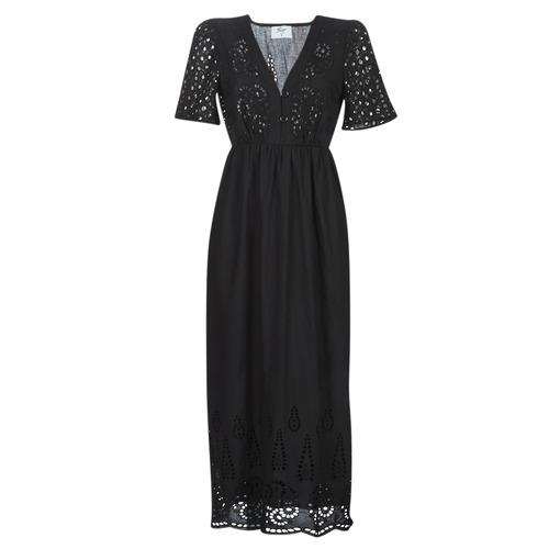 Textil Mulher Vestidos compridos Betty London MARTI Preto