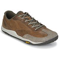 Sapatos Homem Sapatilhas Merrell TRAIL GLOVE 5 LTR Castanho