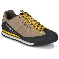 Sapatos Homem Sapatilhas Merrell CATALYST SUEDE Bege / Preto