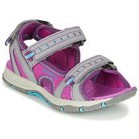 Sapatos Rapariga Sandálias desportivas Merrell PANTHER SANDAL 2.0 Rosa / Cinza