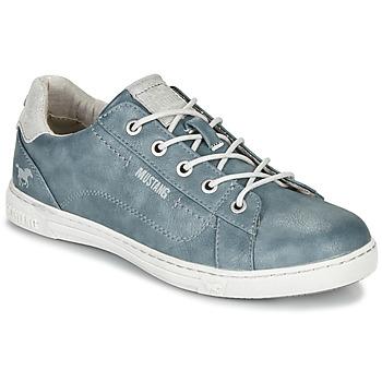 Sapatos Mulher Sapatilhas Mustang 1349301-875 Azul