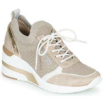 Sapatos Mulher Sapatilhas Mustang 1303303-4 Bege