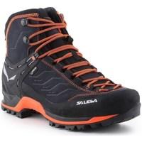 Sapatos Homem Sapatos de caminhada Salewa MS Mtn Trainer Mid Gtx Preto