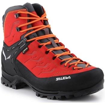 Sapatos Homem Sapatos de caminhada Salewa MS Rapace Gtx Preto,Vermelho