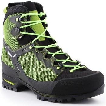 Sapatos Homem Sapatos de caminhada Salewa MS Raven 3 Gtx Preto,Verde