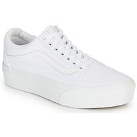 Sapatos Mulher Sapatilhas Vans OLD SKOOL PLATFORM Branco