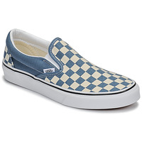 Sapatos Slip on Vans CLASSIC SLIP-ON Azul / Branco