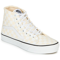 Sapatos Mulher Sapatilhas de cano-alto Vans SK8-HI TAPERED Rosa / Branco
