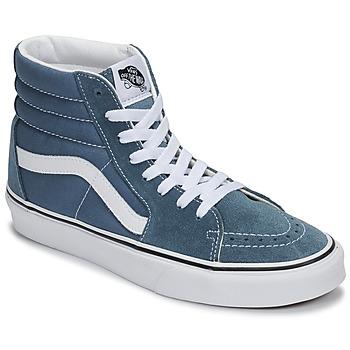 Sapatos Sapatilhas de cano-alto Vans SK8-HI Azul