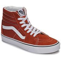 Sapatos Sapatilhas de cano-alto Vans SK8-HI Ferrugem