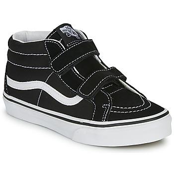Sapatos Criança Sapatilhas de cano-alto Vans SK8-MID REISSUE V Preto / Branco