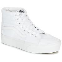 Sapatos Mulher Sapatilhas de cano-alto Vans SK8-HI PLATFORM 2.0 Branco