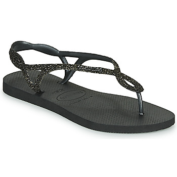 Sapatos Mulher Chinelos Havaianas LUNA PREMIUM Preto