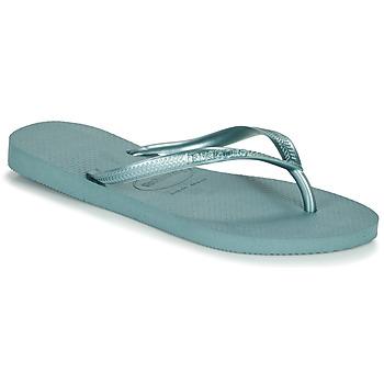 Sapatos Mulher Chinelos Havaianas SLIM Azul
