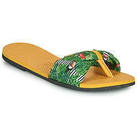 Sapatos Mulher Chinelos Havaianas YOU SAINT TROPEZ Amarelo / Verde