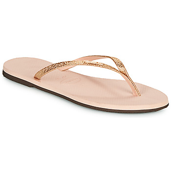 Sapatos Mulher Chinelos Havaianas YOU SHINE Rosa
