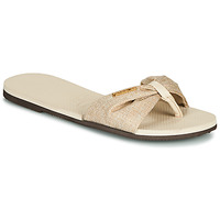 Sapatos Mulher Chinelos Havaianas YOU ST. TROPEZ MATERIAL Bege
