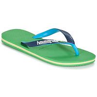 Sapatos Chinelos Havaianas BRASIL MIX Verde / Azul