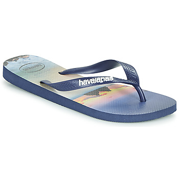 Sapatos Homem Chinelos Havaianas HYPE Marinho
