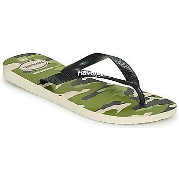 Sapatos Homem Chinelos Havaianas TOP CAMU Verde