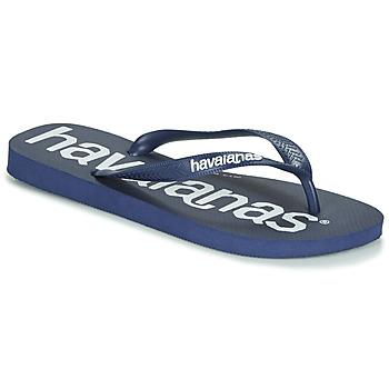 Sapatos Homem Chinelos Havaianas TOP LOGOMANIA Navy / Azul