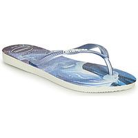 Sapatos Rapariga Chinelos Havaianas KIDS SLIM FROZEN Azul