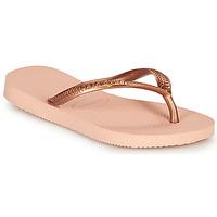 Sapatos Rapariga Chinelos Havaianas SLIM Rosa
