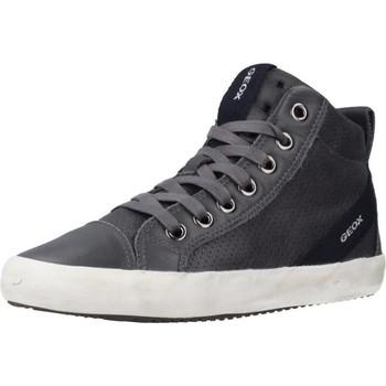 Sapatos Rapaz Sapatilhas de cano-alto Geox J ALONISSO BOY Cinza