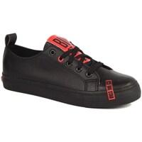 Sapatos Mulher Sapatilhas Big Star INT1222B Preto