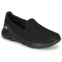 Sapatos Mulher Slip on Skechers GO WALK 5 Preto