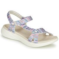 Sapatos Mulher Sandálias Skechers ON-THE-GO Multicor