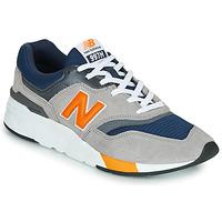 Sapatos Homem Sapatilhas New Balance CM997HEX Navy / Cinzento / Laranja