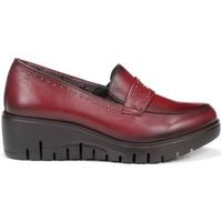 Sapatos Mulher Mocassins Fluchos Zapatos  F0695 Burdeos Vermelho