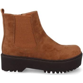 Sapatos Mulher Botas baixas Prisska JZ982 Marron