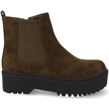 Sapatos Mulher Botas baixas Prisska JZ982 Verde