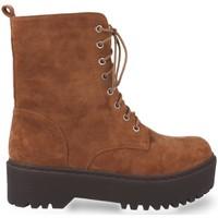 Sapatos Mulher Botins Prisska JZ983 Camel
