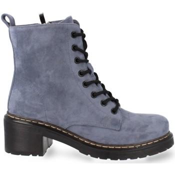 Sapatos Mulher Botas baixas Prisska MT06 Azul