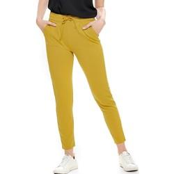 Textil Mulher Calças Jacqueline De Yong  Amarelo