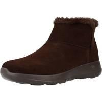 Sapatos Mulher Botas de neve Skechers ON THE GO JOY BUNDLE UP Marron