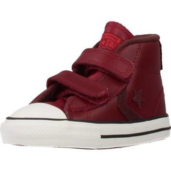 Sapatos Rapaz Sapatilhas de cano-alto Converse STAR PLAYER 2V MID Vermelho