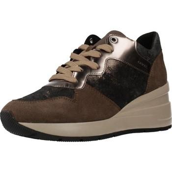 Sapatos Mulher Sapatilhas Geox D ZOSMA Marron