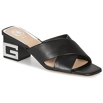 Sapatos Mulher Chinelos Guess MADRA Preto