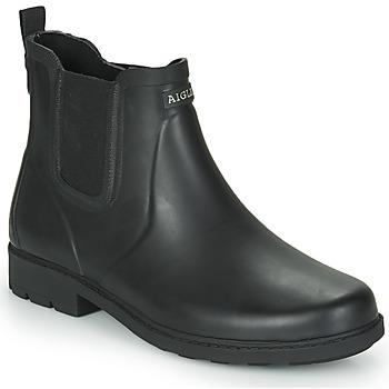 Sapatos Homem Botas de borracha Aigle CARVILLE Preto
