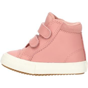 Sapatos Rapariga Sapatilhas de cano-alto Converse 76198 Rosa