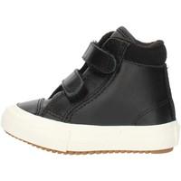 Sapatos Rapaz Sapatilhas de cano-alto Converse 76198 Preto